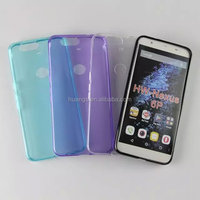 2015 Original most ultra crystal transparent case cell phone case for huawei nexus 6p china suppliers