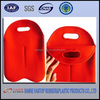 Factory Wholesale SGS Neoprene 2 Wine Bottle Carrier Cooler