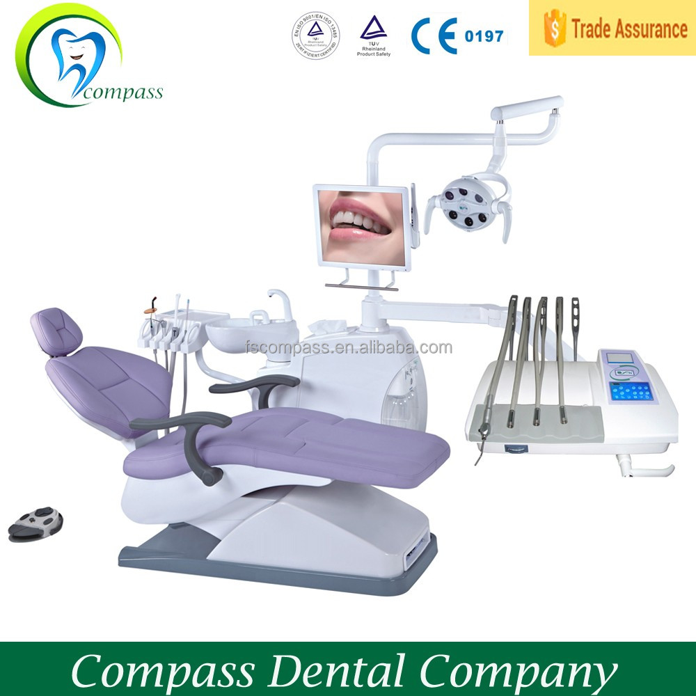 Mobile dental unit dental chair, dentist chair with CE certificate