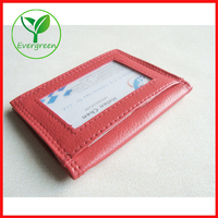 Personalized PU Leather Credit Card Holder