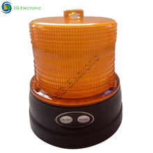 Construction barricade LED flashing safety road light multi function traffic warning light