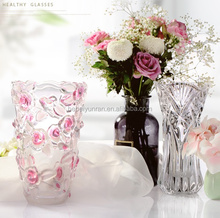 Top-Sale Home Decorative Glass Vase for Wedding Centerpiece/Hotels