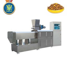 Professional Automatic Dry Pet / Dog / Floating fish feed machine