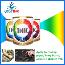 Wear-resistant eco solvent ink for scratch drawing