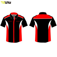 racing team pit crew shirts wholesale