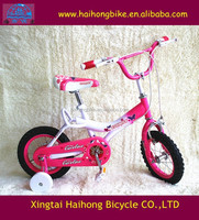 16 inch hot selling BMX baby bicycles with backrest saddle