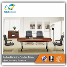 Mini Office Conference Table Wood Top Legs Metal Office Desk M9724 M9720A
