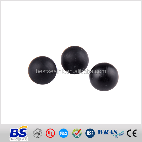 Dustproof acid resistant dimple rubber ball