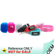 Manufacturer Promotional Cheap Wrist Band Sport Silicone LED Watch