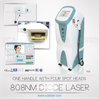 808 diode laser hair removal in motion