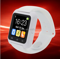 healthy bluetooth 4.0 android watch smart bluetooth bracelet heart rate watch bracelet for u8 dz09
