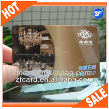 High quality customized plastic mirror business cards