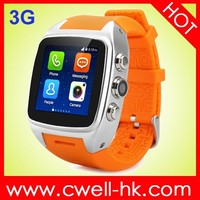 Smart X01 3G Android cell phone watch
