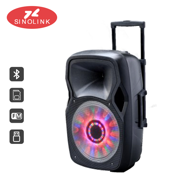 Portable Trolley outdoor bluetooth speaker Speaker