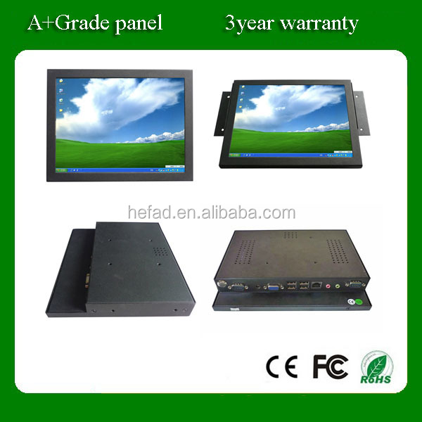"12""15""17""19"" All in one pc with Resistive /SAW touch panel(touch computer)"