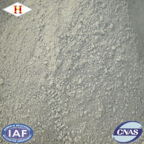 Unshaped refractory material corundum mollite castable for lalde
