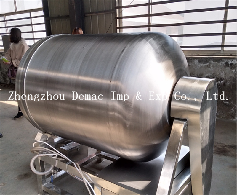 Meat Rolling and Rubbing Machine/food meat vacuum roll kneading machine for sale