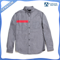 Quality custom 100% cotton woven mens button down shirts