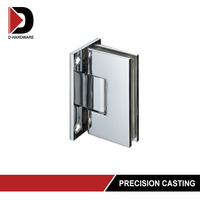 stainless steel soft close heavy duty glass door hinge