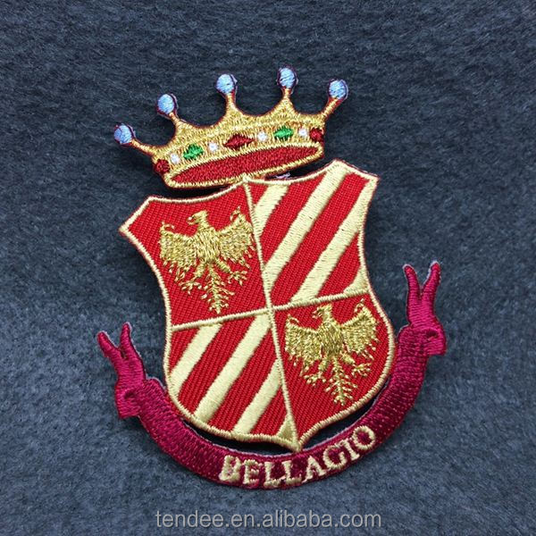 Customized School Uniform / garment embroidery badge