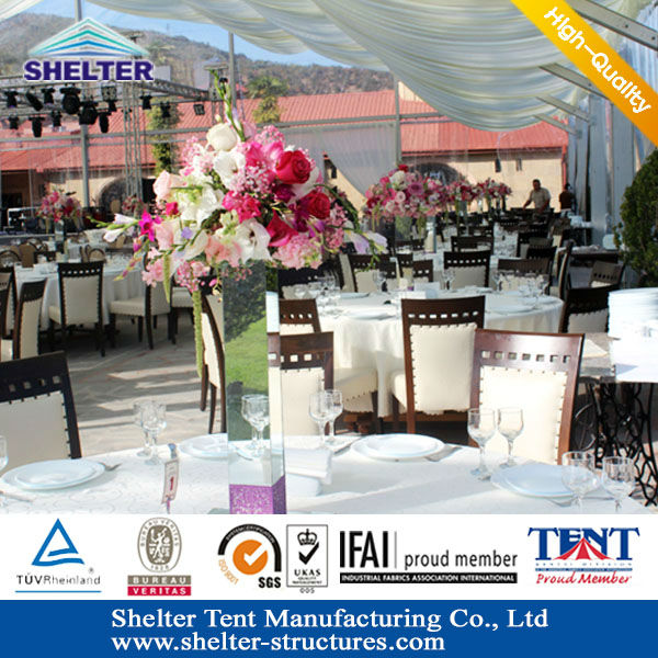 Shnghai air conditioner tables&desks wedding hall decorations tents for wedding party