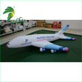 Durable Outdoor Advertising Inflatbale Aircraft Model / PVC Display Helium Filled Inflatable Aeroplane Balloon
