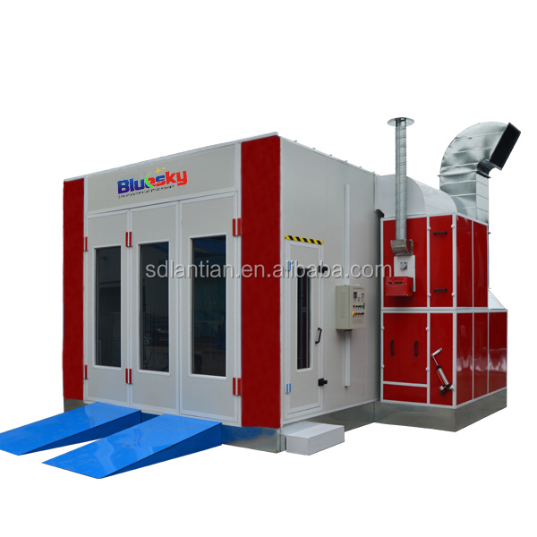 2016 Big Sale Cheap Price Ce Auto Spray Booth Water Based