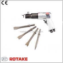190mm Heavy Duty Air Hammer With 4pc Round/Hex Chisels