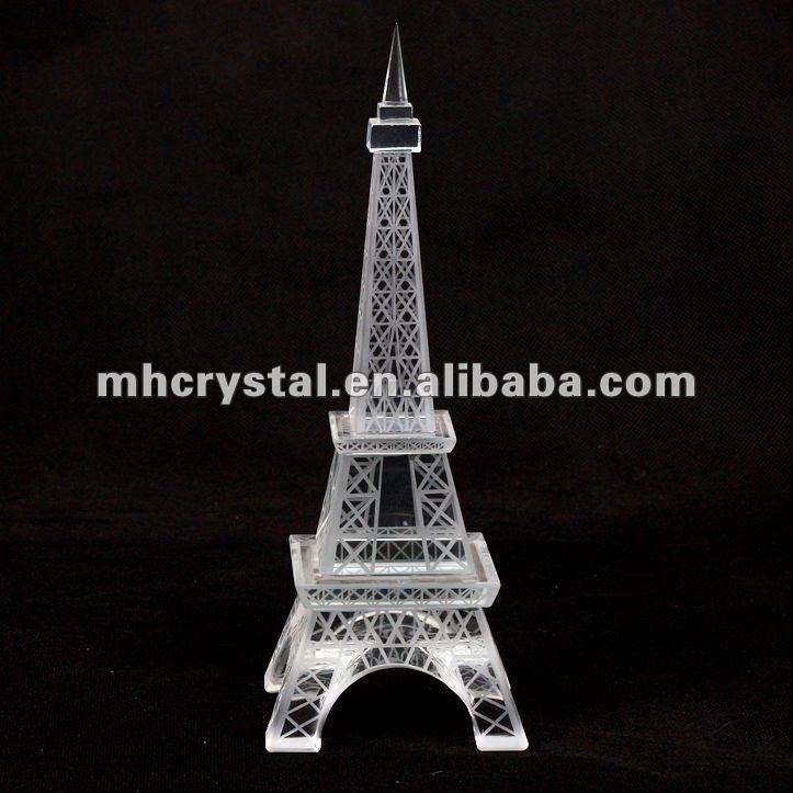 Crystal Paris Eiffel Tower MH-L0185