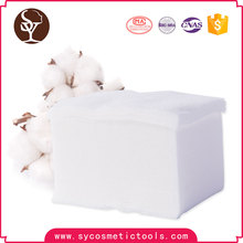 Wholesale deepth cleansing face organic cotton pads cosmetic pads