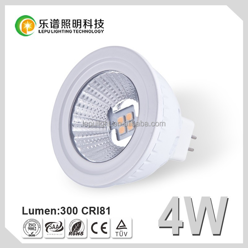 Hot Sale LED Spotlight MR16 LED lamp 4w Spot Light MR16 LED Lamp CE ROHS 12V