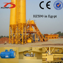 Hot sell Construction Machinery HZS90 Concrete Mixing Plant