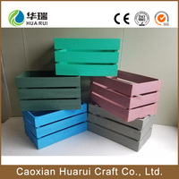 New design cheap wooden fruit crates wholesale , wooden crafts crate