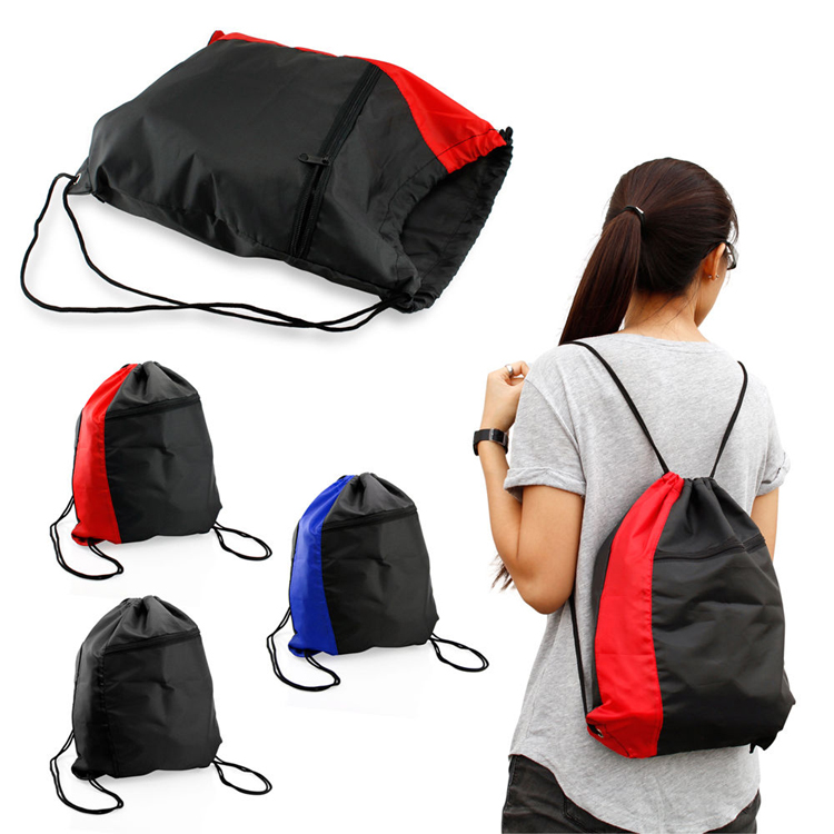 Leisure Shoulders Drawstring Bag Travel Sports Portable Backpack