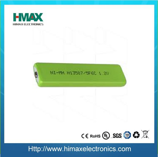 1.2V 1350mAh rechargeable prismatic nimh battery