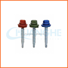 Chuanghe powder painted head roofing self drilling screw