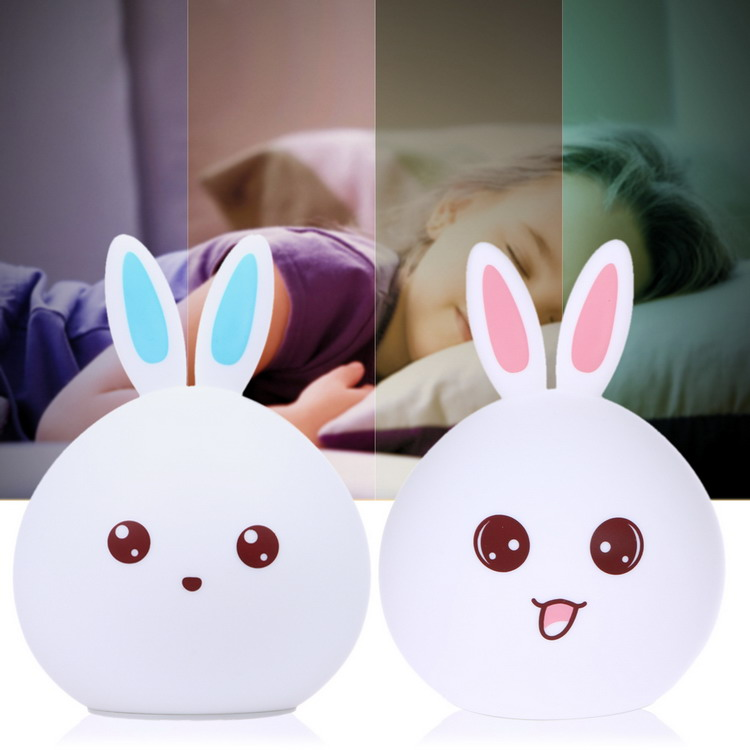 Best Christmas Gift Silicone Night Lights Touch LED Light from China