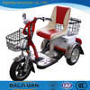 baby electric tricycle pedal assisted for cargo