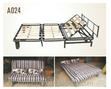 double folding bed frame with new design