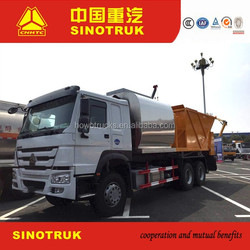 Jinan HOWO truck chassis Asphalt Synchronous Chip Sealer