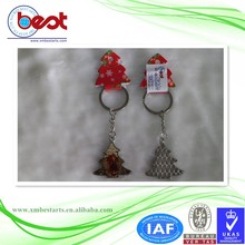 Promotional Gifts cheap custom logo sublimation key chain