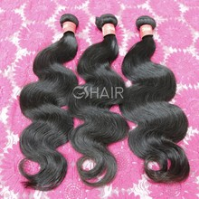2015 high quality dyeable durable tangle free virgin malaysian hair weave body wave