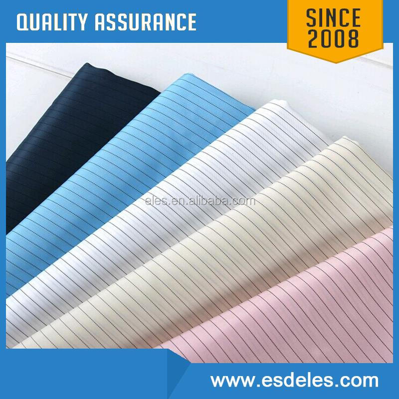 2017 Promotional china esd clothing fabric stock anti-static fabric