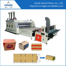 Shanghai manufacture Auto feeding printing and slotting corrugated cardboard printer slotter machine