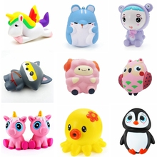 2018 most popular squishy slow rising toys jumbo suqishies cute stretch soft toy kawaii squishies pack