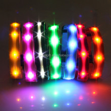 free samples light up dog collar flexible led collar waterproof