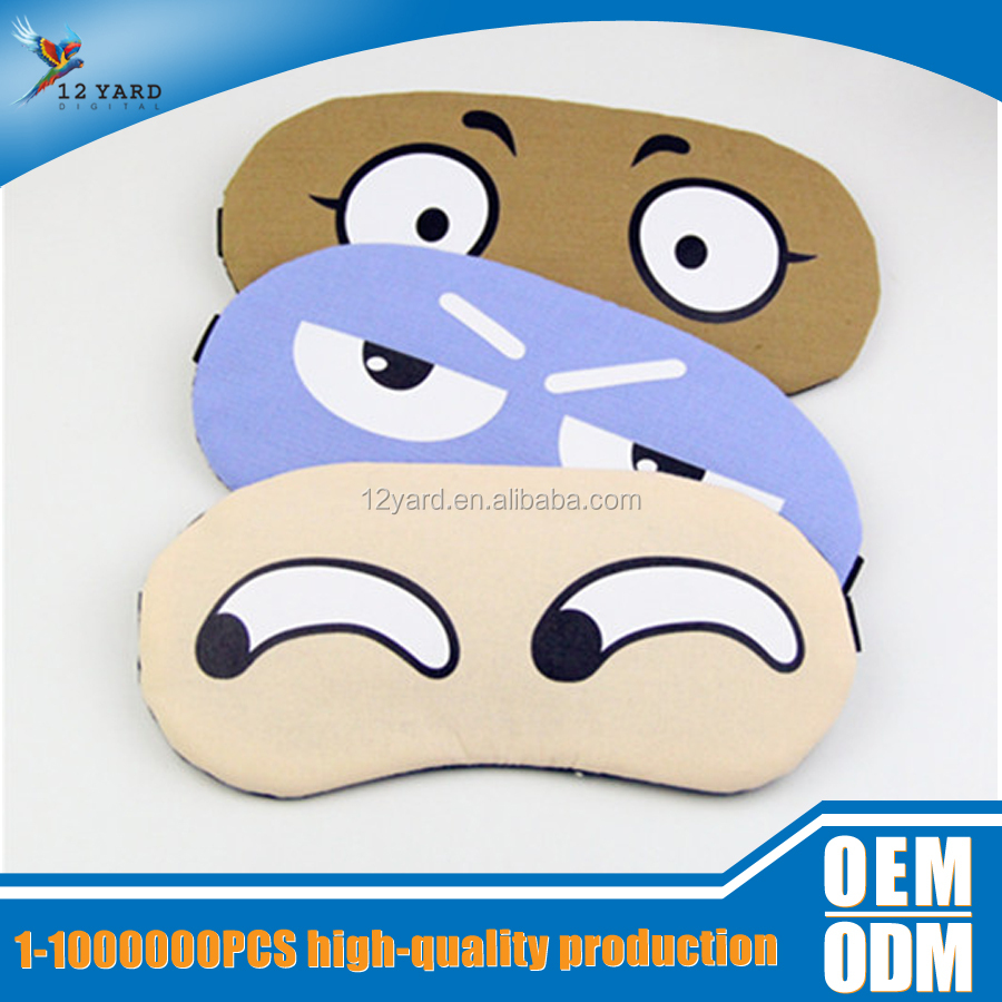 guangzhou china Supplier wholesales Eco-friendly Natural cotton Sleeping Eye Mask