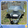 China 9*5 Tandem Axles Heavy Duty Galvanised Box Trailers / Cage Trailers
