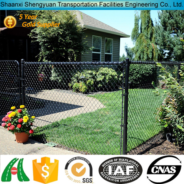 High Quality Backyard Galvanized Privacy Slat Inserts For Chain Link Fence