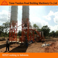 Concrete Mixing Plant 25m3/h working in Indonesia